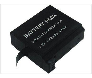 Batterij GoPro Hero 4 accu onderdeel 1160mAh
