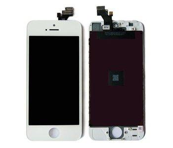 Compleet originele kwaliteit LCD scherm voor Apple iPhone 5S Wit