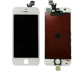 Compleet originele kwaliteit LCD scherm voor Apple iPhone 5 Wit