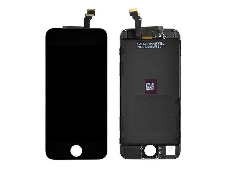 Compleet LCD/display/scherm voor Apple iPhone 6 zwart voor reparatie