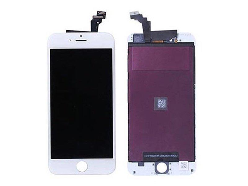 Compleet LCD/display/scherm voor Apple iPhone 6 PLUS wit voor reparatie