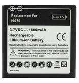 High capacity batterij 1800 mAh voor Samsung Galaxy S Advance i9070 (sterke accu)