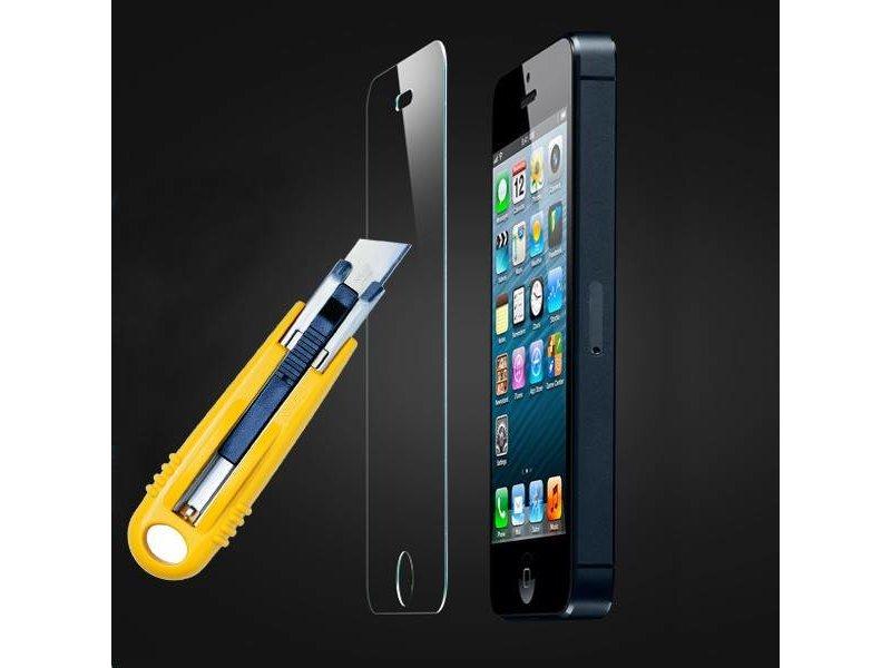 Screenprotector ECHT GEHARD GLAS voor Apple iPhone 5/5S/5C/SE (tempered glass/gehard glas)