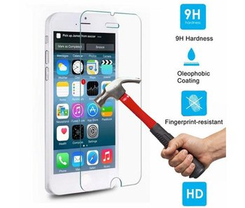 Screenprotector ECHT GEHARD GLAS voor Apple iPhone 6/6S (tempered glass/gehard glas)