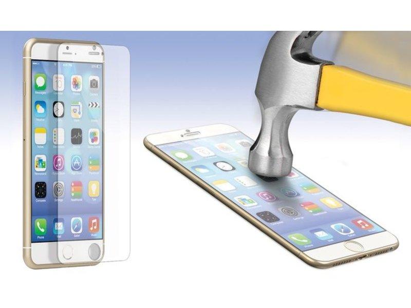 Screenprotector ECHT GEHARD GLAS voor Apple iPhone 6 PLUS / 6S Plus (+) (tempered glass/gehard glas)