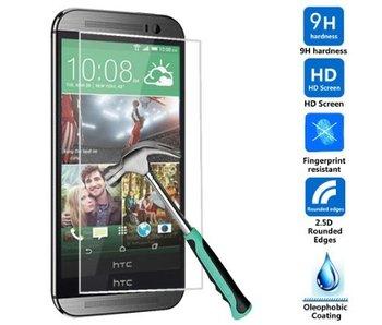Screenprotector ECHT GEHARD GLAS voor HTC ONE M8 (tempered glass/gehard glas)