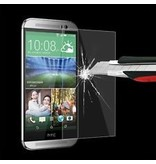 Screenprotector ECHT GEHARD GLAS voor HTC ONE M8 (tempered glass/gehard glas)