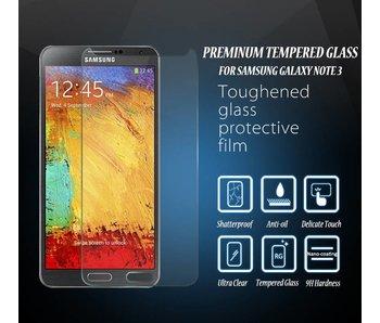 Screenprotector ECHT GEHARD GLAS voor Samsung Galaxy Note 3 (tempered glass/gehard glas)