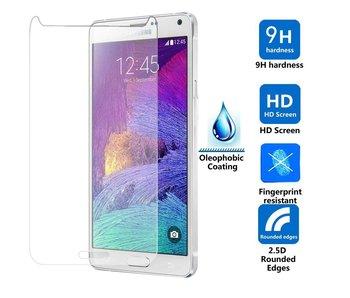 Screenprotector ECHT GEHARD GLAS voor Samsung Galaxy Note 4 N910F (tempered glass /gehard glas)