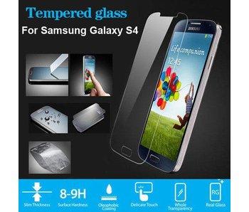 Screenprotector ECHT GEHARD GLAS voor Samsung Galaxy S4 (tempered glass/gehard glas)