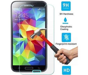 Screenprotector ECHT GEHARD GLAS voor Samsung Galaxy S5 MINI (tempered glass/gehard glas)