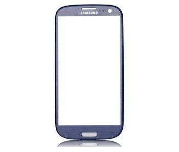 Scherm glas geschikt voor Samsung Galaxy S3 i9300 Navy Blue (blauw) reparatie onderdeel