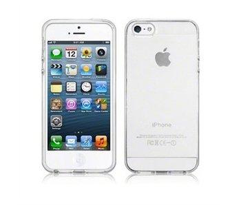 Transparant premium hoesje iPhone 5 / 5S / SE case cover doorzichtig