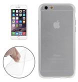 Transparant premium hoesje iPhone 6 / 6S case cover doorzichtig