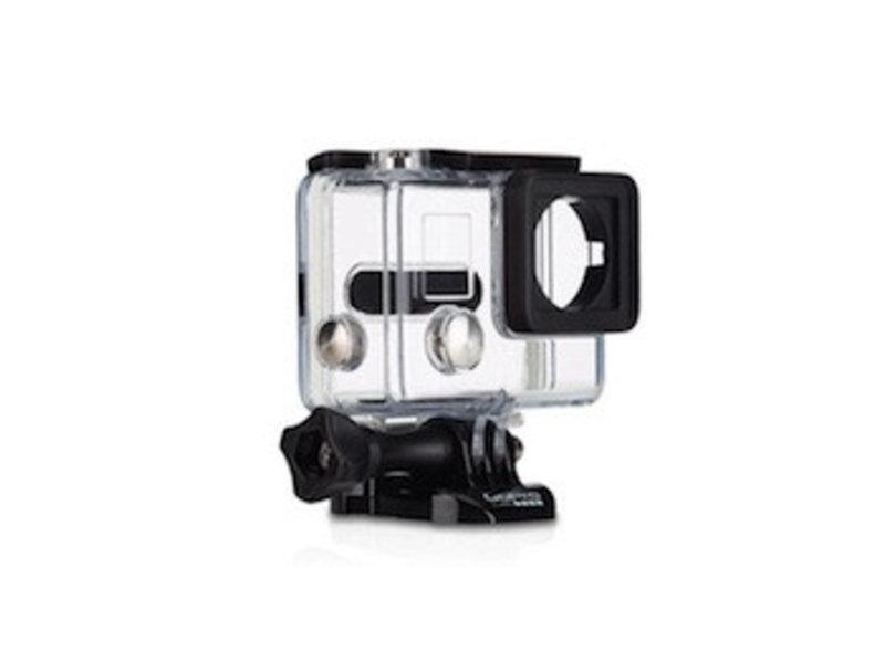 Waterdichte behuizing voor GoPro Hero 4 en 3+ transparant housing case waterproof