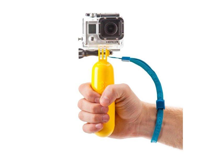 GoPro bobber drijver mount Geel voor GoPro Hero en andere actiecamera's