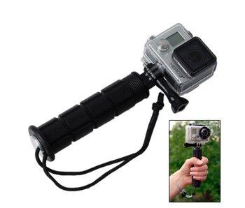 Premium stabalizer grip monopod zwart voor GoPro Hero en andere actiecamera's