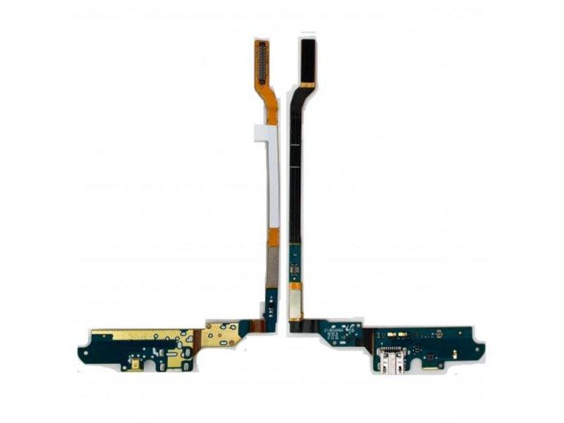 Charging Port Flex met microfoon voor Samsung Galaxy S4 i9500 oplaadpoort micro-usb dock connector reparatie onderdeel