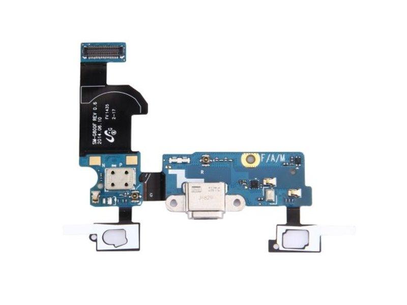 Charging Port Flex touch voor Samsung Galaxy S5 Mini G800F oplaadpoort micro-usb connector reparatie onderdeel