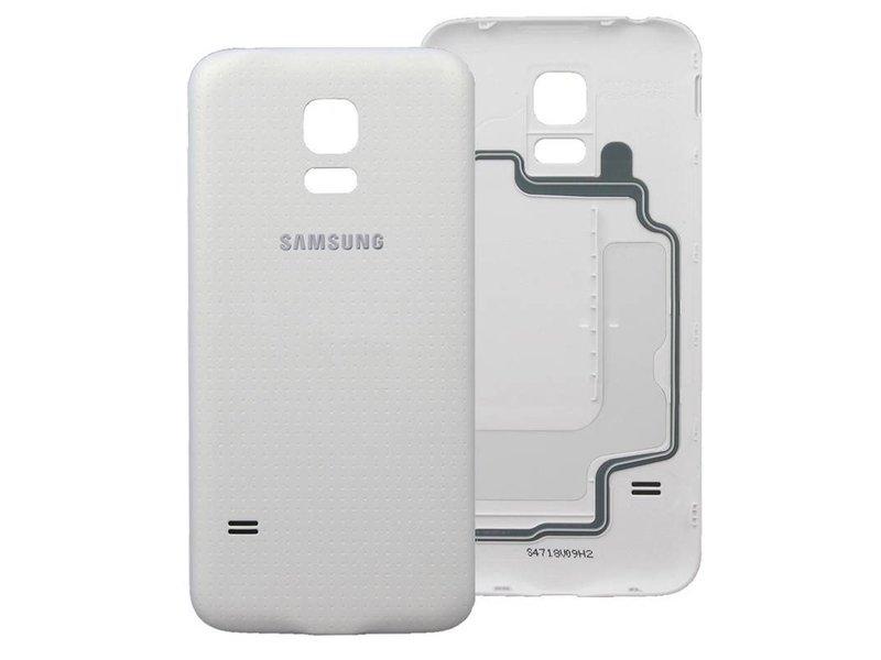 Back cover voor Samsung Galaxy S5 i9600 achterkant wit batterij klepje