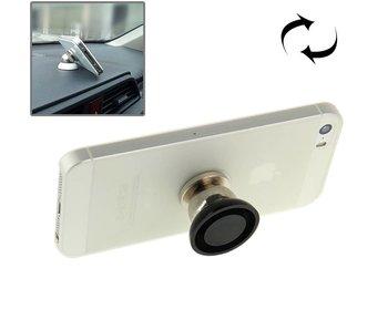 Magnetische 360° Auto houder Universeel - telefoonhouder voor o.a. iPhone 5/5S/SE/6/6S/Plus/7/8/X Samsung galaxy S6/S7/Edge/Note/S8
