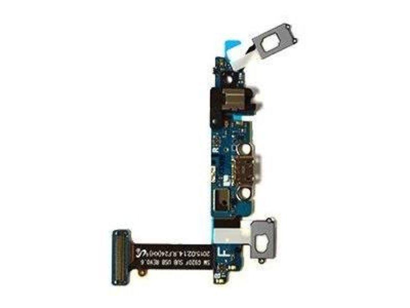Charging Port Flex touch Samsung Galaxy S6 G920F oplaadpoort met microfoon micro USB opladen dock connector onderdeel voor reparatie
