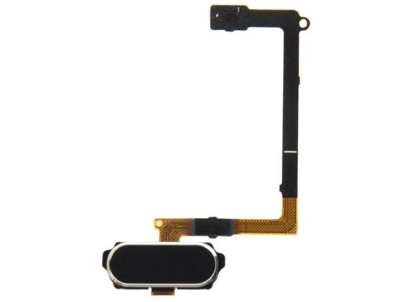 Home button Zwart voor Samsung Galaxy S6 G920F compleet reparatie onderdeel (thuis knop Black)