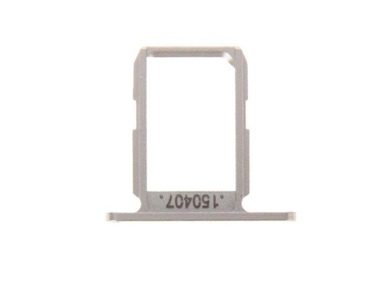 Sim tray simkaart houder voor Samsung Galaxy S6 Goud (gold)