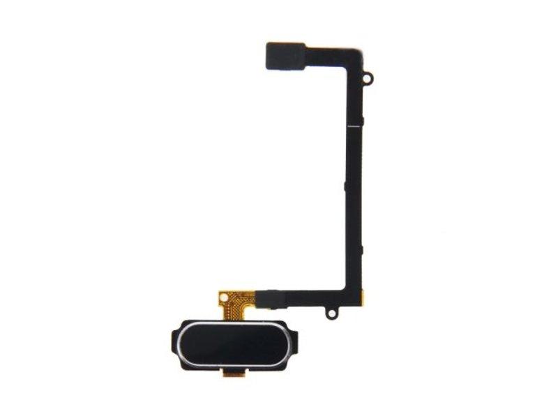 Home button Zwart voor Samsung Galaxy S6 Edge G925F compleet reparatie onderdeel (thuis knop Black)