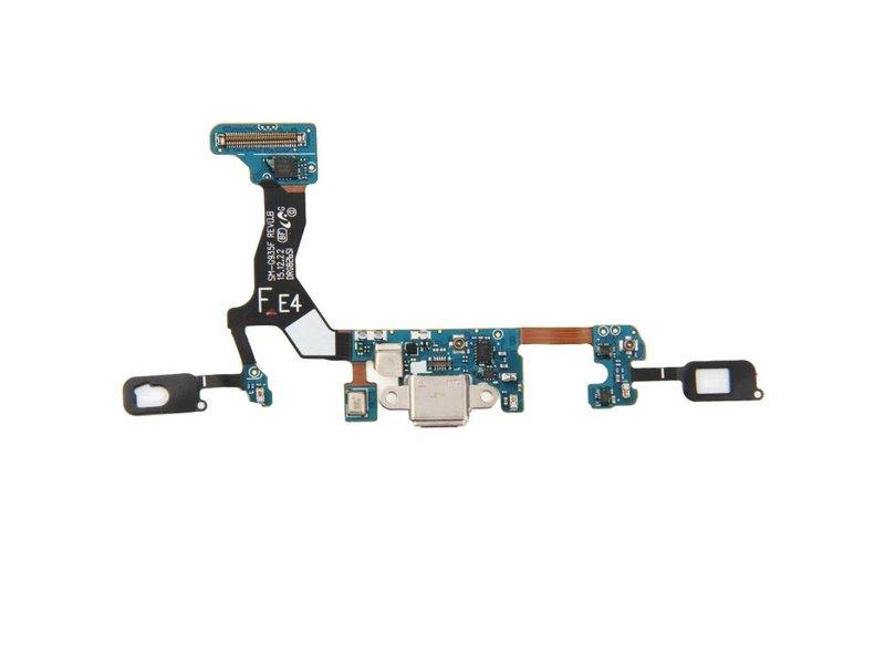 Charging Port Sensor Flex voor Samsung Galaxy S7 Edge G935F oplaadpoort + microfoon micro-USB dock connector reparatie onderdeel