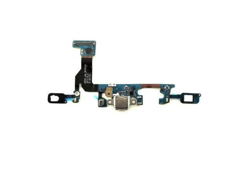 Charging Port Sensor Flex voor Samsung Galaxy S7 G930F oplaadpoort + microfoon micro USB dock connector reparatie onderdeel