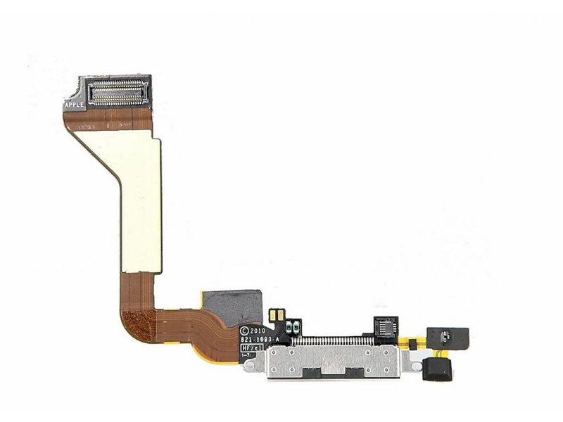 Charging Port Flex voor Apple iPhone 4 dock connector oplaadpoort + microfoon reparatie onderdeel