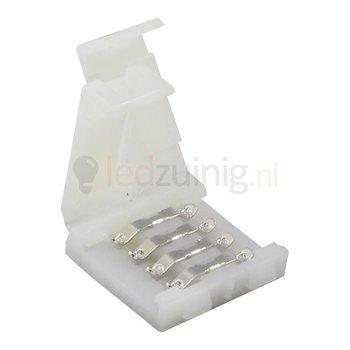 Koppelstukje voor RGB led strip - 4 pins zonder solderen