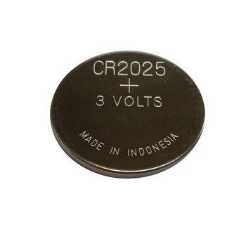 CR2025 - 3 volt reserve batterij voor led strip controllers
