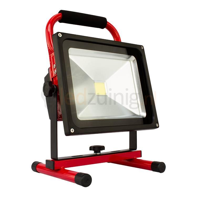 Zeer 30 watt accu bouwlamp - Hoge lichtopbrengst - Beste prijs! PS53