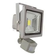 20 watt led bouwlamp met sensor - 6500K - 1650 lumen