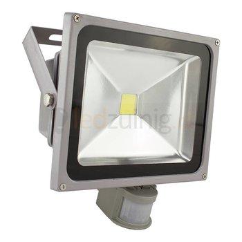 30 watt led bouwlamp met sensor - 6500K - 2470 lumen