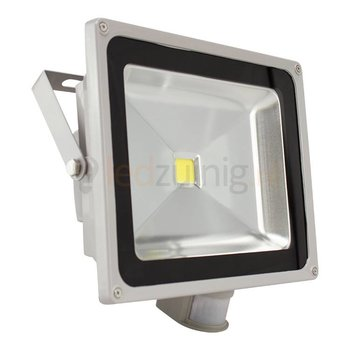 50 watt led bouwlamp met sensor - 6500K - 4100 lumen