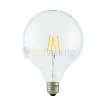 Retro led lamp - Echt glas - E27 -  Extra warm-wit - Bolvorm