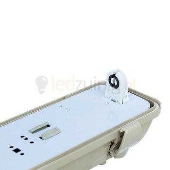 Led TL armatuur voor 1 x 150 cm led TL - IP65 waterdicht