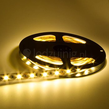 5 meter led strip - Warm-wit - 60 leds per meter - IP20