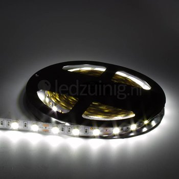 5 meter led strip - Koel-wit - 60 leds per meter - IP20