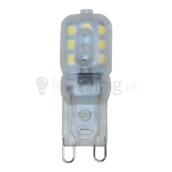 3 watt G9 led lamp - 6500K - 180 lumen - 230 volt
