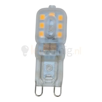 3 watt G9 led lamp - 2800K - 180 lumen - 230 volt