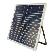30 watt solar schijnwerper met zonnepaneel en accu