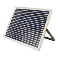 20 watt solar schijnwerper met zonnepaneel en accu