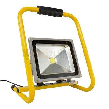 30 watt led werklamp op beugel - 2470 lumen - Koel-wit