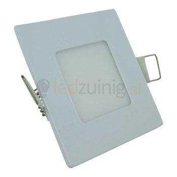 Mini led paneel - 6 watt - Natuurlijk-wit - Dimbaar - Vierkant