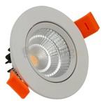 3 watt kantelbare led inbouwspot - 330 lumen (hoog rendement) - Warm-wit