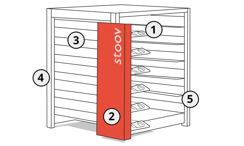 Stoov® Dock6 | oplaadstation voor warmtekussens